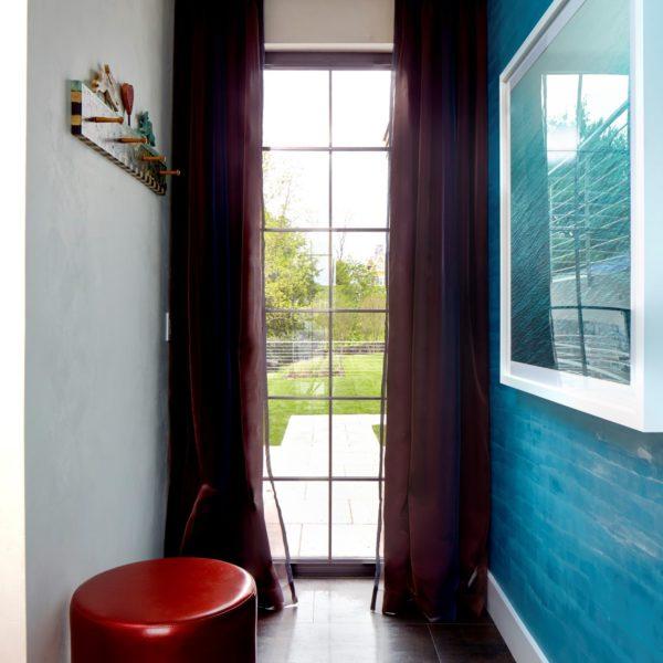 Heidi_Holzer_Blue Dragged_Venetian Plaster